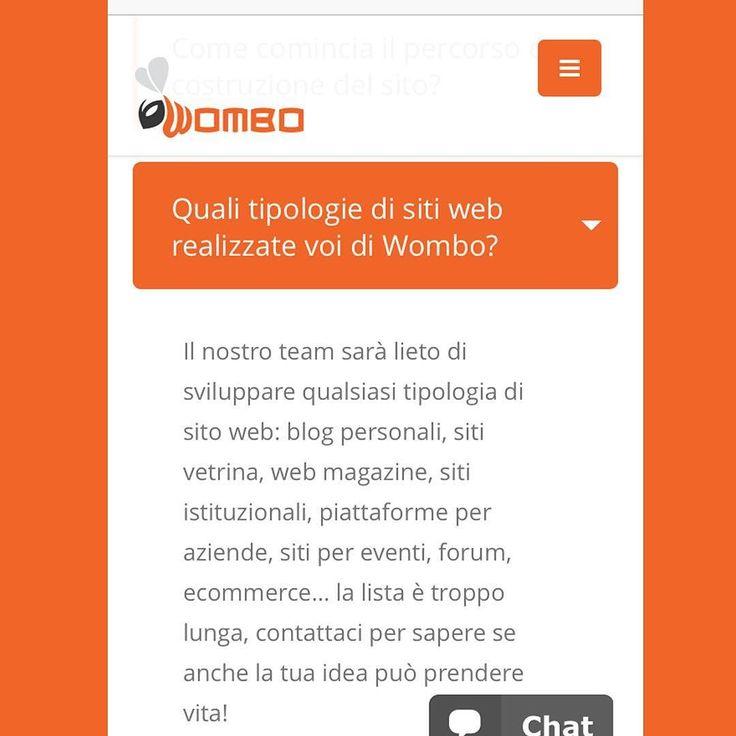 Soddisfiamo ogni #esigenza! Contattaci a info@wombo.it o visita il nostro sito wombo.it per saperne di più! #website #web #marketing #branding #logo #design #agency #team #work #follow #picoftheday #bestoftheday #phooftheday #faq #milano #milan #womboit
