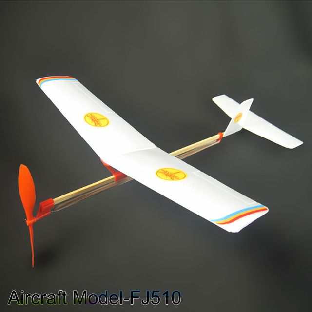 rubber powered plane