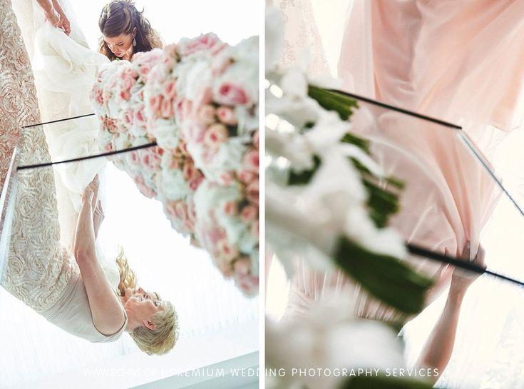Bridesmaids Bouquet - Greece Destination wedding photography