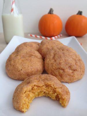 Goddess of Baking: Pumpkin Snickerdoodles