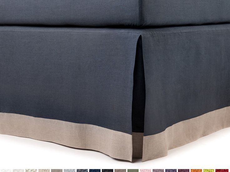 Lit Queen King juponnage jupe pleine Twin ou Double taille juponnages de lit couleur personnalisée et bordé de goute avec bride pli creux couleur bloc juponnage par LovelyHomeIdea sur Etsy https://www.etsy.com/fr/listing/240581298/lit-queen-king-juponnage-jupe-pleine