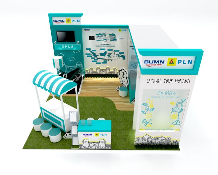 Desain Stand Pameran Kelistrikan dan Indonesia Best Electricity Award (IBEA) 2017 – PT PLN (Persero)