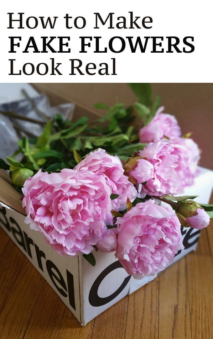 Tips And Tricks On How To Make Fake Flowers Look Realistic Via