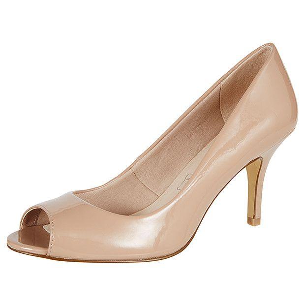 Venus Peep Toe Heels - Black | Target Australia