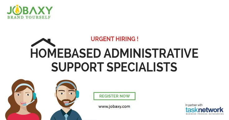 Looking for Home-based Jobs? WE ARE HIRING!! Register : www.jobaxy.com  For the Job Description and on How to Apply, please see the links below:  https://www.jobaxy.com/jobs/Home-Based-Administrative-Support-Specialists.html  Any inquiries, please message/ call us:  Globe: +639157824915 Sun: +639322549007 #Jobaxy #JobHiring #PhilippinesJobs