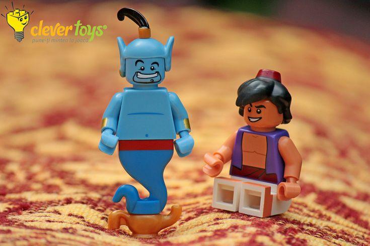 """Aladdin: """"Genie, I wish for your freedom!"""""""