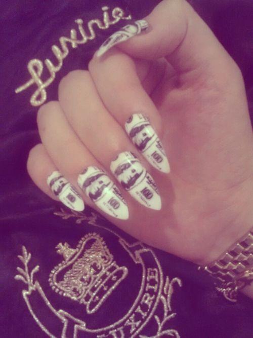 Zendaya Coleman Nail Designs Nails Acrylic