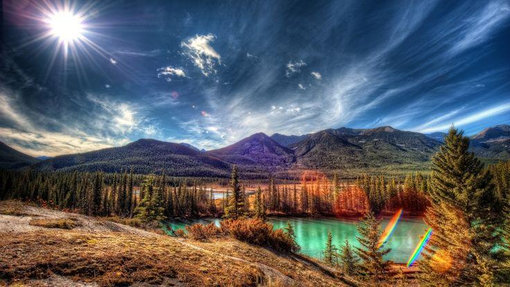 banff national park alberta canada iphone7 wallpaper download