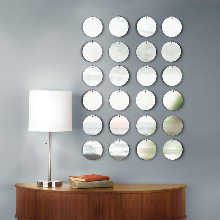 Een set van 24 kleine ronde muurspiegels - Wooninspiratie & Woonideeen - Meer inspiratie