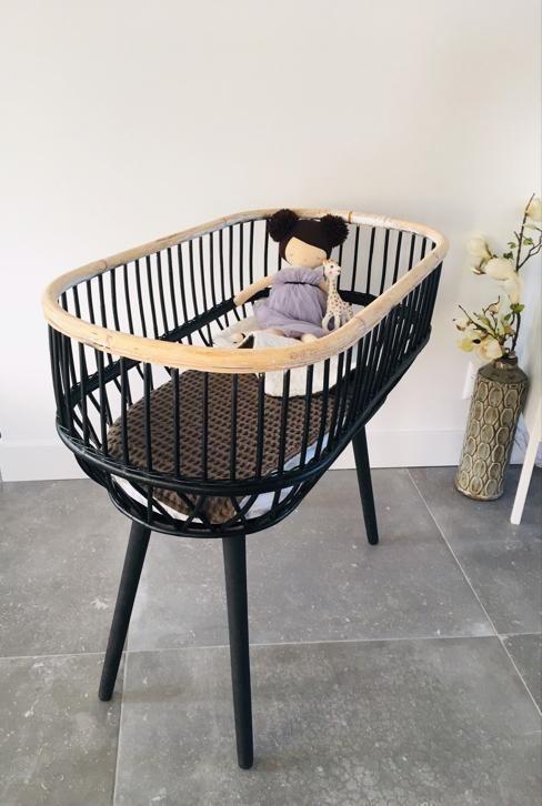 Marktplaats Complete Babykamer.Vintage Rotan Rohe Noordwolde Wieg Babywieg Mand Babywiegjes En