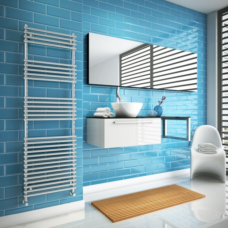Cool looking towel rails from Simply Radiators.