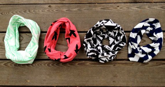 Baby Infinity Scarves by TheGoldenSparrowShop on Etsy