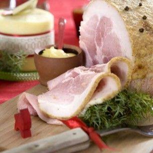 Julskinka med senapsgriljering - Recept - Mitt Kök