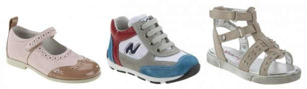 Kids shoes by Naturino - good blog about kids shoes