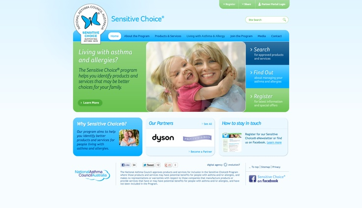 http://www.sensitivechoice.com.au/ a cool website that keeps things 'above the fold'.