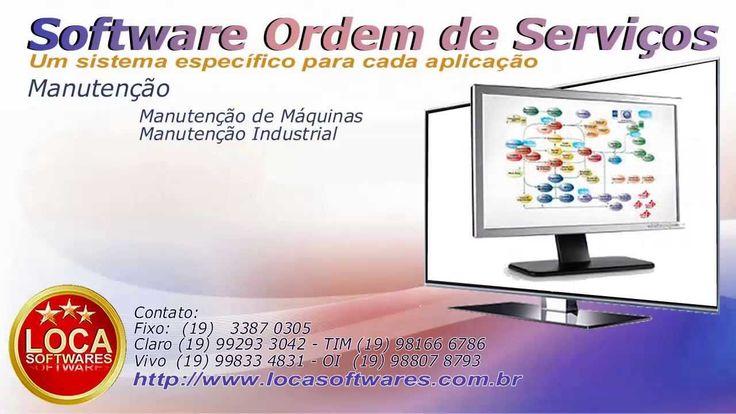 Software para assistência técnica ordem de serviços