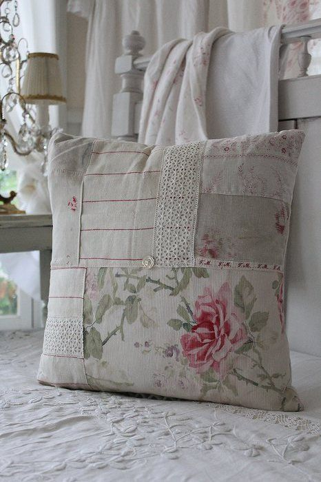 INSPIRATION: patchwork pillow