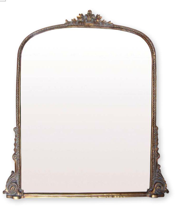 I would like to find a traditional looking overmantle mirror similar to this