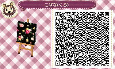 """bunsicalcrossing """" Super cute floral fabric pattern"""