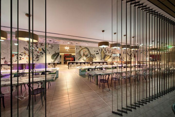 Melbourne Central Food Court by The Uncarved Block, Melbourne store design