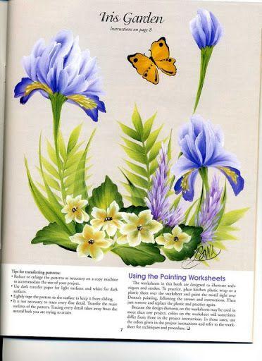 LAMINAS... Y TRABAJOS CON FLORES (pág. 175)   Aprender manualidades es facilisimo.com