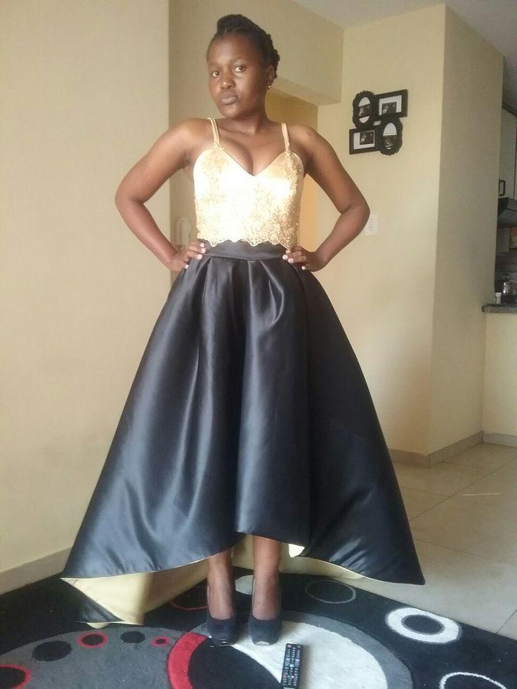 Prom high waist nd crop