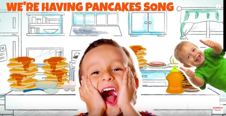 Yes, We're Having Pancakes Song for Kids | Dance Party Music for Kids |...