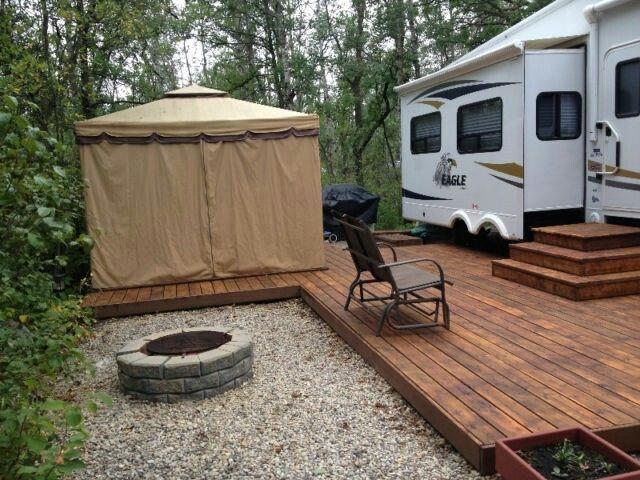 Campsite layout