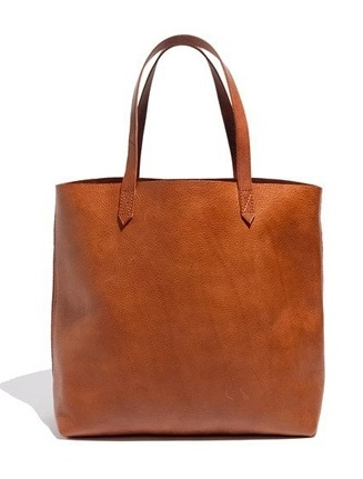Perfect caramel leather bag
