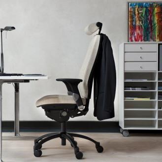 RH Logic 300/400 kontorstol, kontorstol med armlæn, kontorstol med nakkestøtte