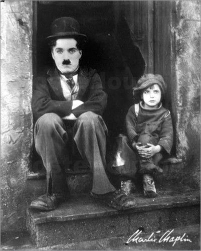 "Poster ""Charlie Chaplin - The Kid"""
