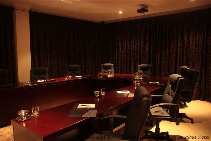 Conference facilities available at Rustenburg Boutique Hotel. http://www.accommodation-in-southafrica.co.za/NorthWest/Rustenburg/RustenburgBoutiqueHotel.aspx