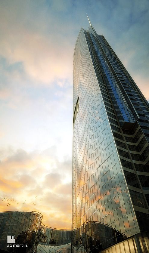 Another view of the towering Wilshire Grand Tower (Photo: AC Martin)