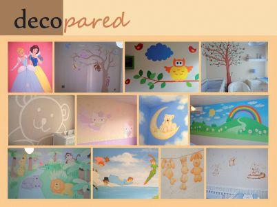 Murales para pintar habitaciones de bebe murales - Pintar murales infantiles ...