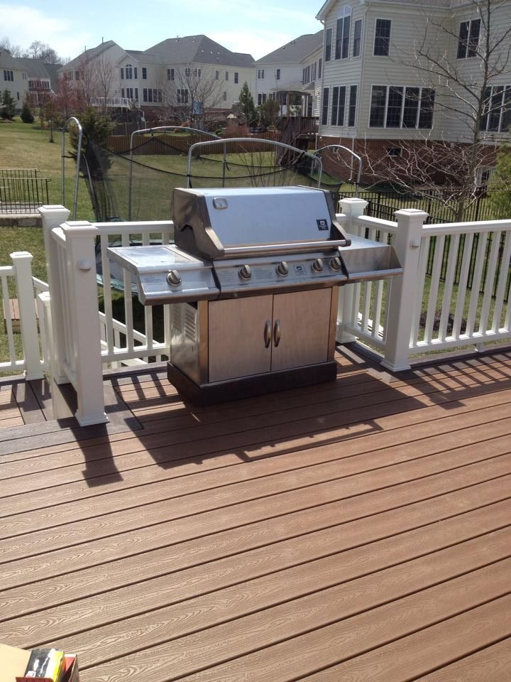 141 best images about outdoor kitchen patio deck on for Outdoor composite decking
