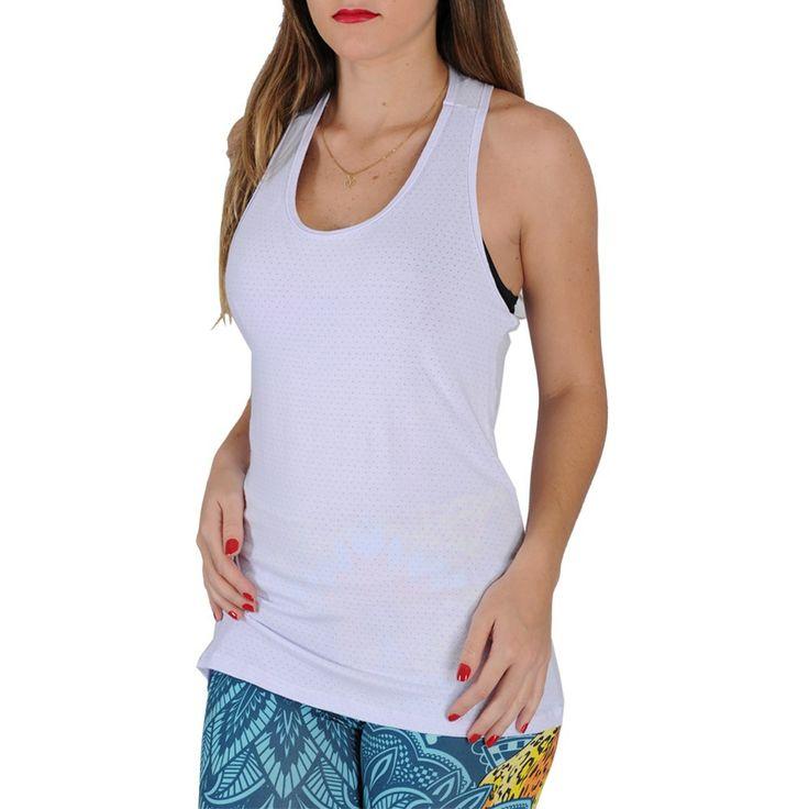 Camiseta Fitness Tecido Furadinho 2425 -