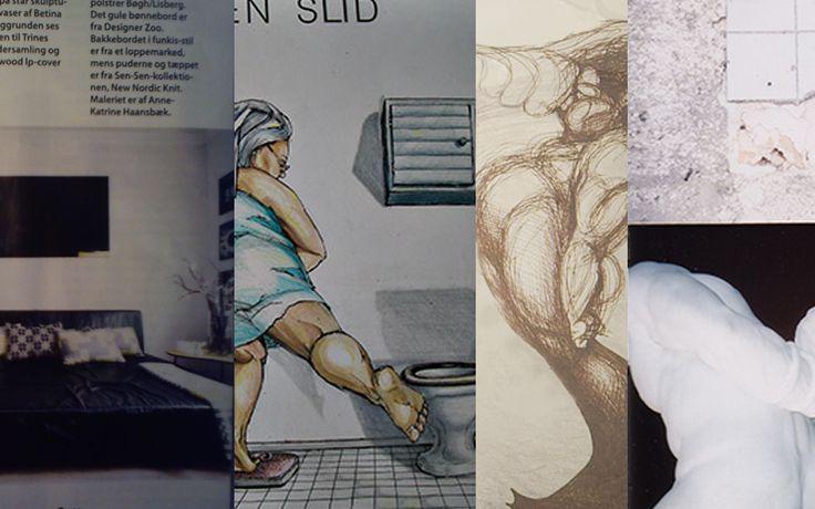 Håndtegnede eller malede illustrationer | Grafikbutik.dk