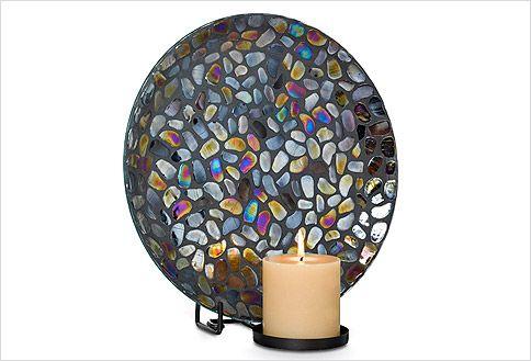 Aurora Mosaic Wall Sconce Partylite Pinterest