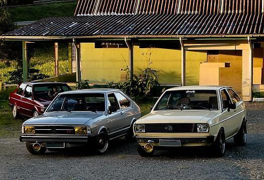Volkswagen Passat e Gol Old School