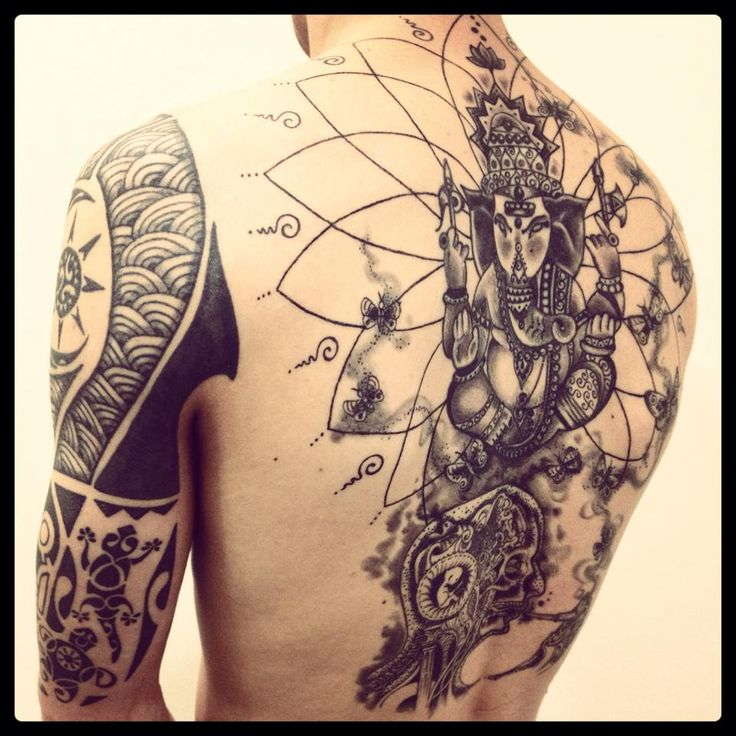 Tattoo Designs Yoga: 40 Vivid Hindu Inspired Tattoos