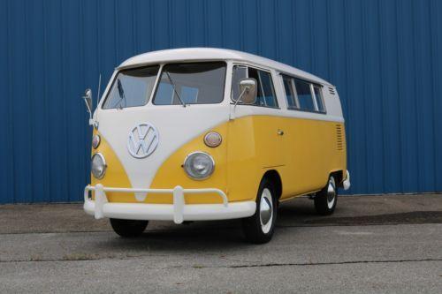 1963 Volkswagen Bus Vanagon  Used Buses for Sale  School, Passenger