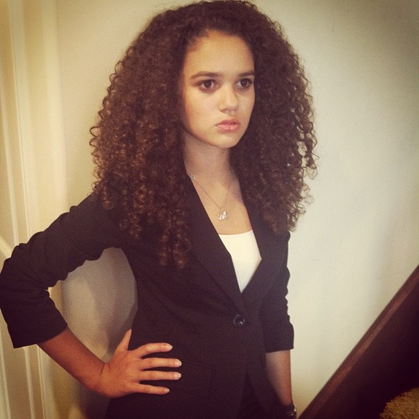 madison pettis (from cory in the house & the game plan). shes all grown up now