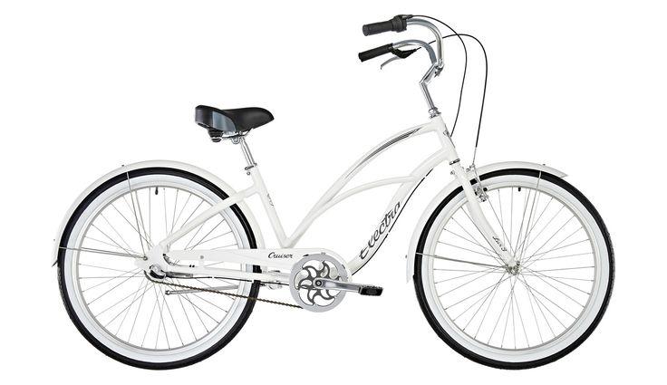 Electra Cruiser Lux 3i Stadsfiets wit I Voordelig kopen bij Bikester