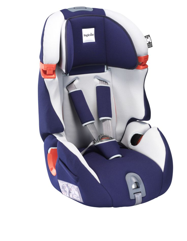 Inglesina Mille Miglia 1/2/3 Car Seat Marina Extremely comfortable and is equipped with a headrest that is adjustable in both height and width. The backrest is height adjustable