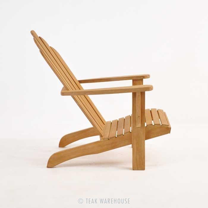 Teak Warehouse | Teak Adirondack Chair $395