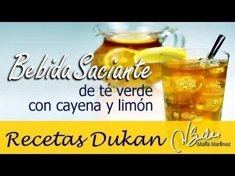 Bebida de Te verde y pimienta de cayena (Ataque), del libro La Escalera Nutricional (la nueva dieta Dukan)  #escaliernutritionelle