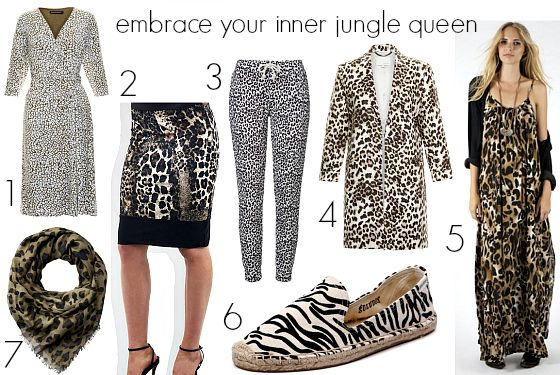 I'm a big fan of animal print done well in a wardrobe and comedian Julia Morris' jungle wardrobe on I'm a Celebrity Get Me Out of Here is spot on.