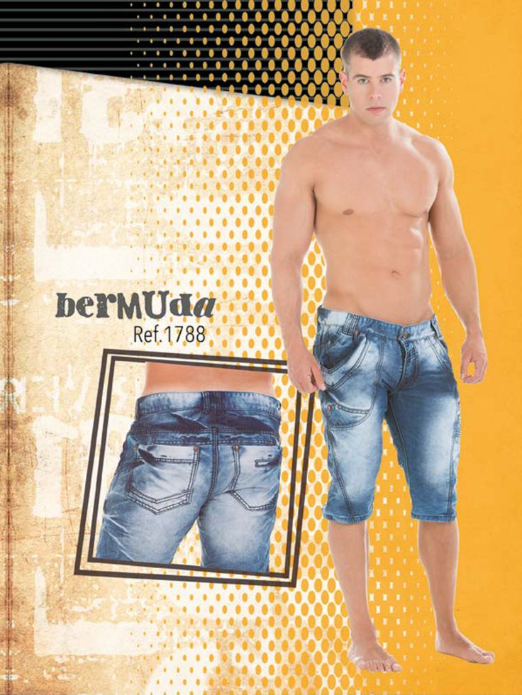 Jeans Men. #jean bermuda