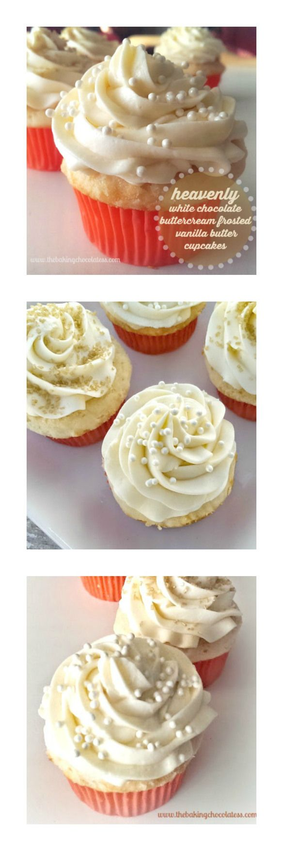 how to make white buttercream frosting for cupcakes