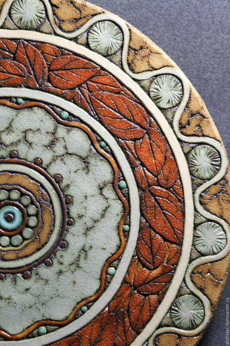 Ceramic dish / Купить Блюда из шамота - Керамика, керамика ручной работы, блюдо керамическое, блюдо для фруктов, шамот